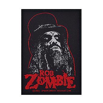 Rob Zombie Portrait Woven Patch