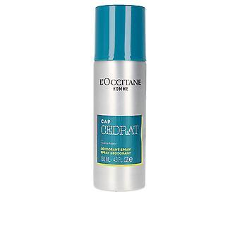 L'Occitane En Provence Cap Cedrat Deo Spray 130 Ml Voor Heren
