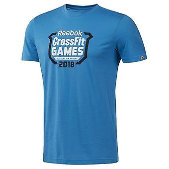 Reebok Crossfit Games Crest DN2396 entraînement été hommes t-shirt