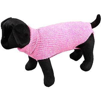 Arppe ג'רזי סנדר רוזה (כלבים, בגדים כלב, סוודרים וקפוצ'ונים)