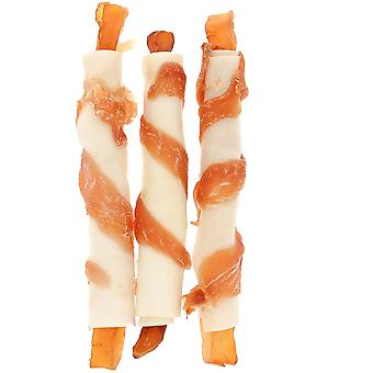 Ferribiella Rawhide kierre W/kana - perunat (koirat, kohtelee, koristelematon kohdella)
