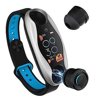 Wireless bluetooth earphone sport wristband combo