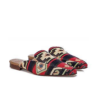 Hudson London Mari Printed Textile Mules