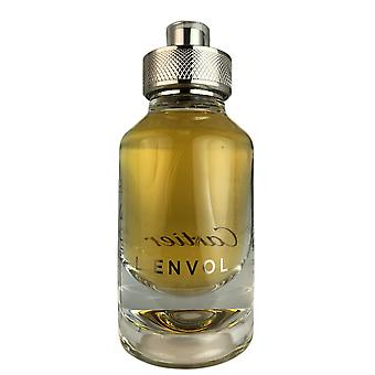 Cartier l'envol de cartier eau de parfum voor mannen spray 2.7 oz tester