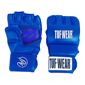 Tuf Wear Training Leather Grappling Glove 7oz Blue