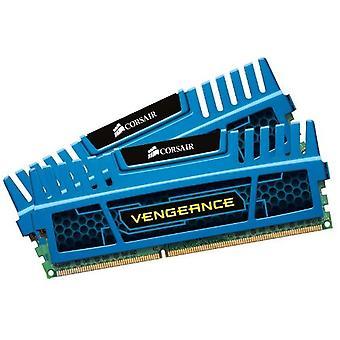 コルセア CMZ16GX3M2A1600B 復讐デスクトップメモリ、16 GB (2x8 GB)、DDR3、1600 MHz、CL10、XMPサポート付き、ブルー