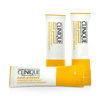 Clinique Fresh Pressed Renewing Powder Cleanser with Pure Vitamin C - All Skin Types 28x0.5g/0.01oz
