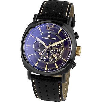 Jacques Lemans - Wristwatch - Men - Lugano - Sport - 1-1645.1O