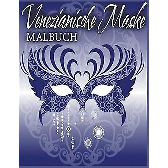 Venezianische Maske Malbuch by Little & Julie