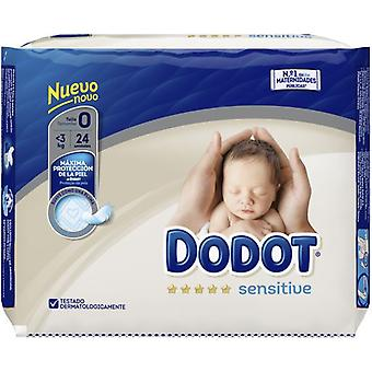Dodot Sensitive Rn T0 24 pcs (Baby & Toddler , Diapering , Diapers)