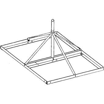 "Rohn Products 30""H Non-Penetrating Roof Mount for DBS or TV antennas"