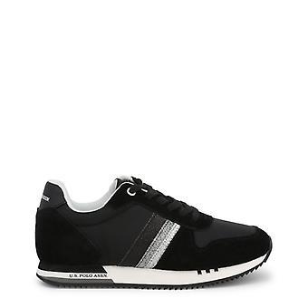 Zapatos de zapatillas de tela de mujer ua17271