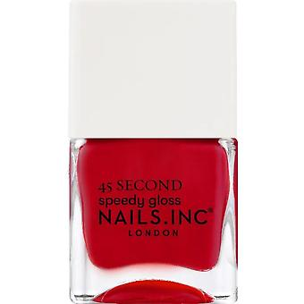 Nails inc 45 Second Speedy Gloss Nail Polish Collection - Mayfair Made Me Do It 14ml