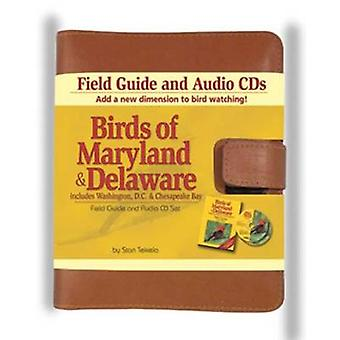 Birds of Maryland & Delaware Field Guide and Audio Set by Stan Tekiel
