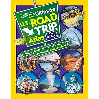NGK Ultimate U.S. Road Trip Atlas 2020 update by Crispin Boyer
