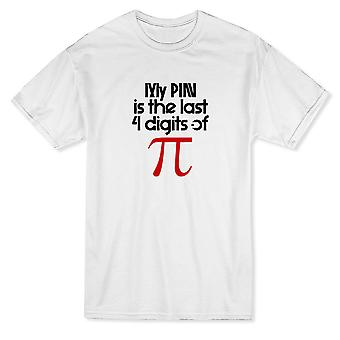 My Pin Is The Last Digits Of Pi Graphic Men's T-shirt