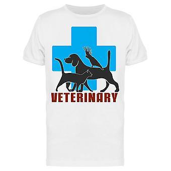 Veterinary, Stamp Tee Men's -Image Shutterstockin mukaan