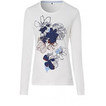 Olsen Floral Design Top