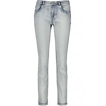 Taifun Slim Fit Blue Wash Jeans