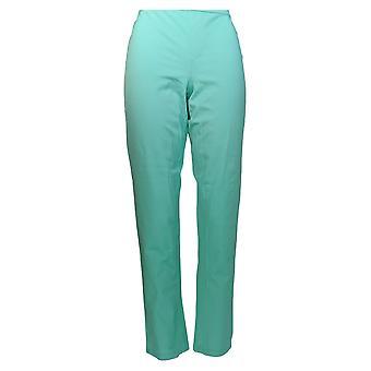 Isaac Mizrahi Live! Pantalones de Mujer's 24/7 Estiramiento Tobillo Pantalones Verde A302696