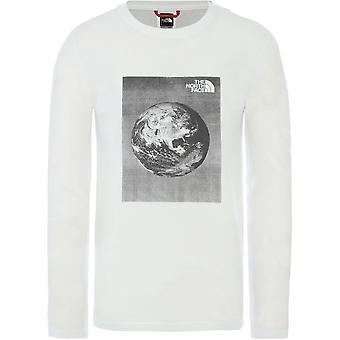 ノースフェイスグラフィックT9493NLG5ユニバーサルオールイヤーメンTシャツ