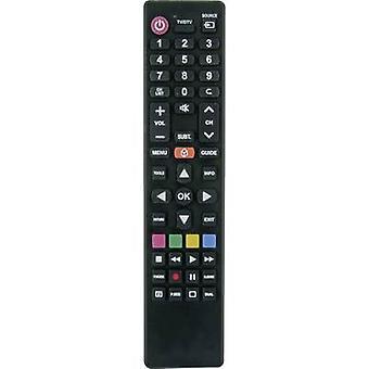 Schwaiger UFB100U Samsung, LG, Sony, Philips, Panasonic Remote control Black