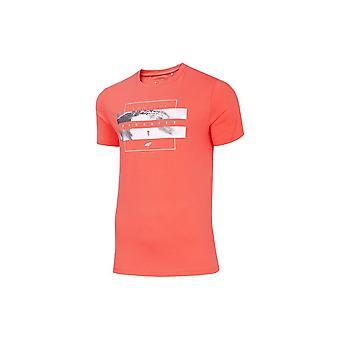 4F TSM035 H4L20TSM035OSOSIOWY universeel het hele jaar mannen t-shirt