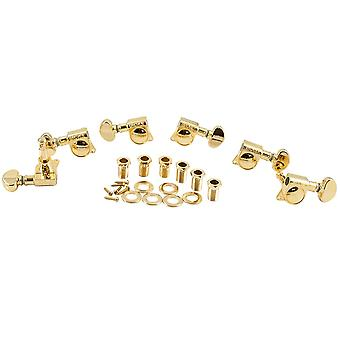 Grover Mid-size Rotomatic 3 Aside Machine Heads 18:1 Gear Ratio 305 Series