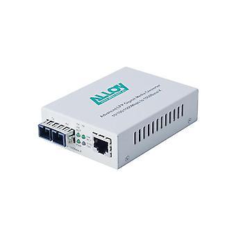 Alloy Gcr2000Sc 10 Gigabit Standalone Rackmount Media Converter