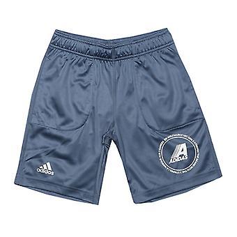 Boy&Apos;s adidas Junior Odwracalne spodenki w kolorze niebieskim
