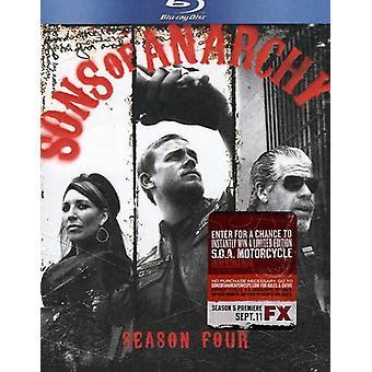 Sons of Anarchy: Season 4 [BLU-RAY] USA import