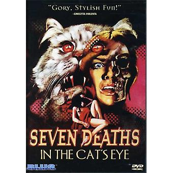 Seven Deaths in the Cat's Eye [DVD] USA import