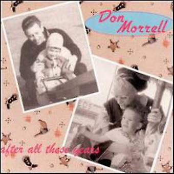Don Morrell - After All These Years [CD] USA import