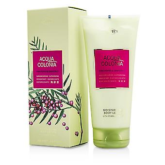 4711 Acqua Colonia roze peper & Grapefruit Moisturizing Body Lotion 200ml/6,8 oz
