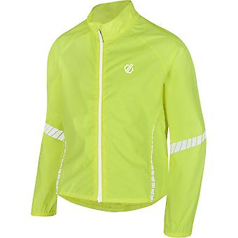Dare 2B Kids' Cordial Waterproof Cycling Jacket Fluorescent