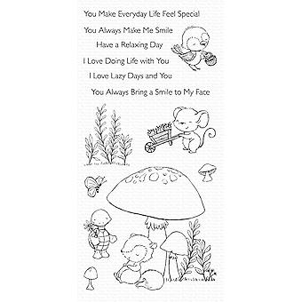 My Favorite Things Always Bring a Smile Clear Stamps
