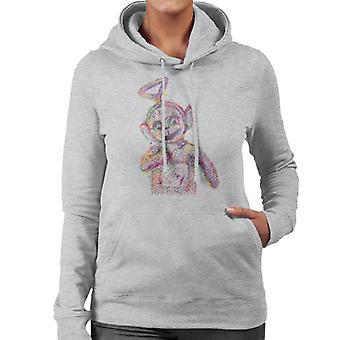 Teletubbies Twinky Winky Fluidline Design Women's Hooded Sweatshirt