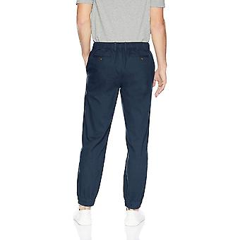 Essentials Men's Straight-Fit Jogger Pant, Navy, Large