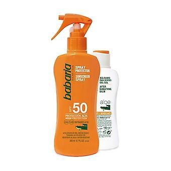 Aloe Sun Screen Spray SPF 50 + After Sun 200 + 100 ml