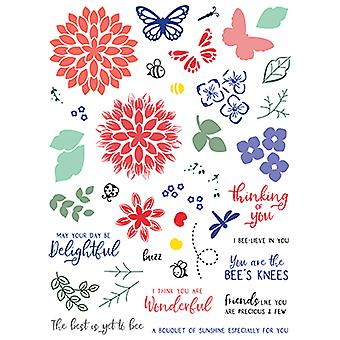 LDRS Creative Petal Pusher Sunny Meadow Clear Timbres