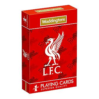 Liverpool FC Waddingtons No.1 Playing Cards