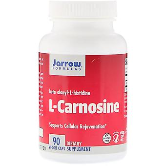 Jarrow Formulas, L-Carnosine, 90 Veggie Caps