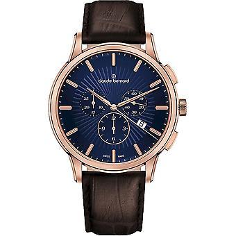 Claude Bernard - Relógio de Pulso - Homens - Jolie classique cronógrafo - 10237 37R BUIR