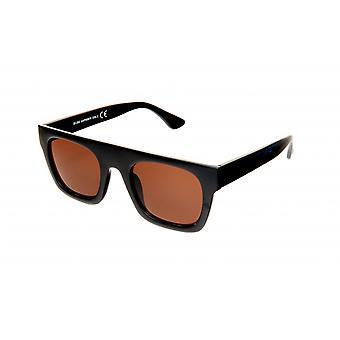 Gafas de sol Mujeres Rectangulares Marrón/Negro (20-202)