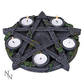 Nemesis nyt - wiccan pentagrammi - t-valo haltija