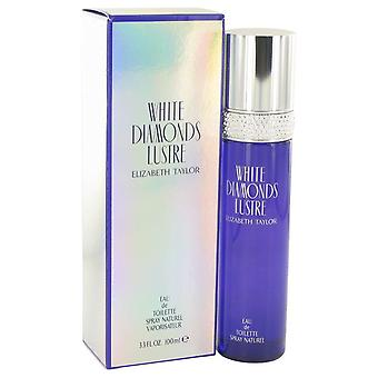 White Diamonds Lustre Eau De Toilette Spray By Elizabeth Taylor 3.3 oz Eau De Toilette Spray