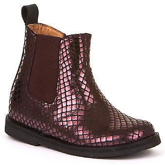 Froddo Girls G3160120-2 Chelsea Boots Grape Wine