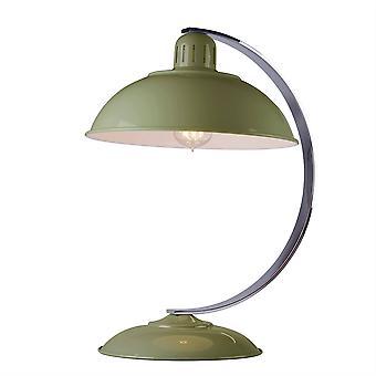 Elstead Franklin - 1 Lampe de bureau lumineuse Reed Green, E27
