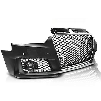 Tuning Stoßstange AUDI A3 12-16 RS3 STYLE CHROME BLACK PDC