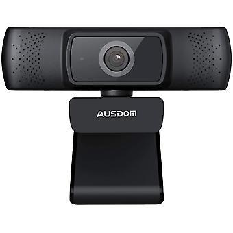 AUSDOM AF640 1080P Webcam Messa a fuoco
